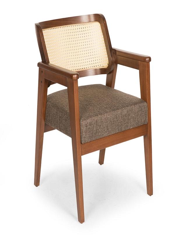 Ahşap Sandalye Brown 01